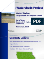 Iowa Watersheds Project | Soap Chequest 2.7.13