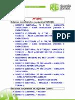TREs e TSE - 4º Simulado de Direito Eleitoral