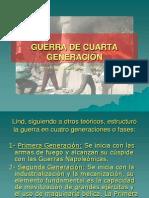 GUERRA DE CUARTA GENERACIÓN III