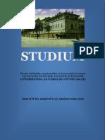 Revista-STUDIUM, Nr. 1 (3), 2012