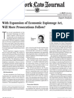 NY Law Journal Article - EEA