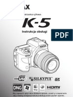 Pentax K-5 Instrukcja PL