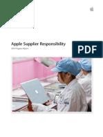 Apple Suppliers 2013 Progress Report