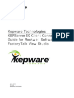 KTSM00002 FactoryTalk View Connectivity Guide KEPWARE