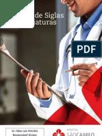 Manual de Siglas e Abreviaturas para Profissionais da Saúde