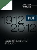 000 Jung Catalogo Tarifa 2012 2a Edicion