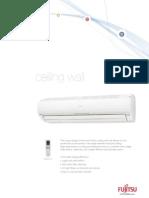 Fujitsu Ceiling Wall Brochure