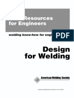 Design for Welding