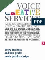 Ga Voice Creative Services Booklet