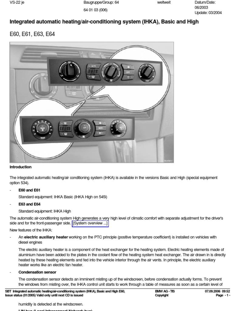 e60 AC System | Air Conditioning | Hvac