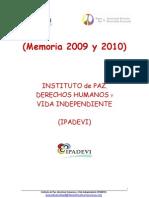(Memoria 2010) Ipadevi