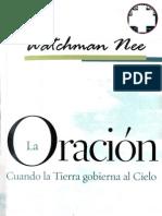 Watchma Neela Oracion