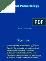 General Properties & Classification of Parasites