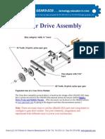 Nylon Gearset Instructions