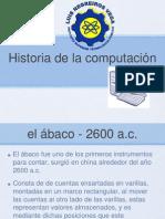 Hisrtoria de la Computación