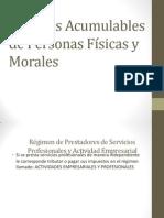 Ingresos Acumulables de Personas Físicas y Morales
