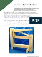 Prensa Briquetas Biomasa