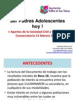 Presentación Taller de los Niños - Ser Padres Adolescentes Hoy.ppt