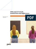 Ifrs and Us Gaap Similarities and Differences 2012