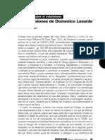 Las Obsesiones de Domenico Losurdo