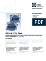 Data Sheet of DENSO Feu Tape