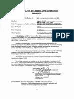 Sptc Cpni Certification Stmt Ye 2012.