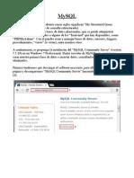 Descarga, Instalación, Configuración y Uso Básico de MySQL