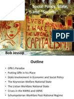Social Policy, State and Society