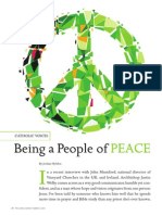 Being a People of Peace