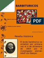 Barbituricos - Farmacologia EXPO