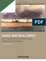 Shale & Wall Street