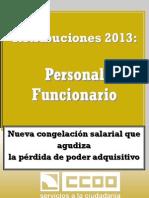 1597493-Retribuciones Personal Funcionario 2013