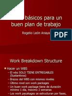 Pasos Para Un Buen Plan de Trabajo - MS Project 2008