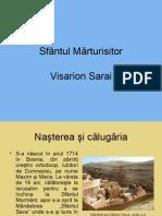 Sfântul Mărturisitor Visarion Sarai