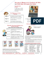 Spanish Child Management Guidelines