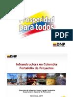 DNP-Portafolio Proyectos Infraestructura Español - 111109