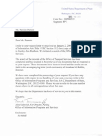 Dunham Passport Foia Records Reduced Redacted