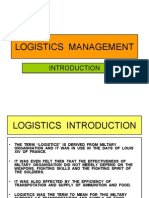 37090595 1 Logistics Management