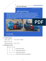 SB Series Sand Pump Brochure