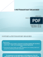 Group 2 - Sanitary & Phytosanitary Measures