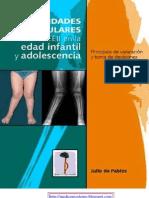 Deformidades Angulares de Las Extremidades Inferiores en La Edad Infantil Y Adolescencia 1era Ed