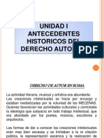 Antec Histor. Der. Autor