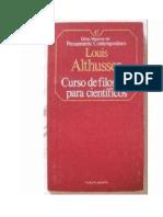 63756300 Althusser Louis Curso de Filosofia Para Cientificos 1967