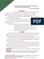 Consolidation Des Comptes Dans Le SYSCOA_El Bachir WADE