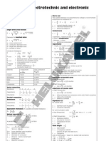 X 104 Formulas of Electrotechnic and Electronic