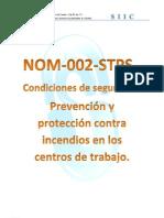 Manual NOM-002-STPS Prevencion y Proteccion Contra Incendios