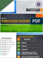 Psikologi - Psikologi Holistik