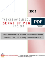 Sense of Place - Report, Marketing Plan & Funding Sources Finished