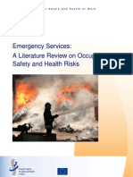 Emergency Services Occupational Safety and Health Risks
