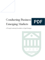 Conducting Business in Emerging Markets